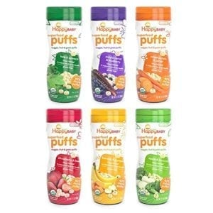 organic puffed snacks for babies