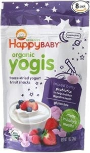 organic baby yogurt snacks