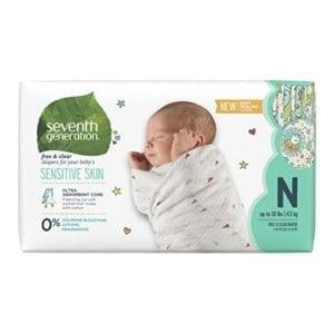 sensitive newborn diapers