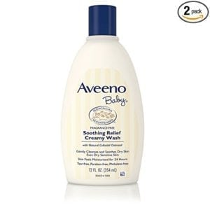 aveeno baby wash for sensitive skin