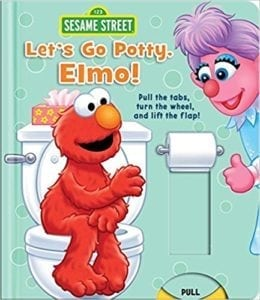 Elmo potty book