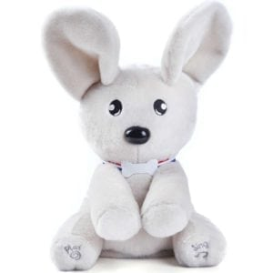 peek a boo dog plush