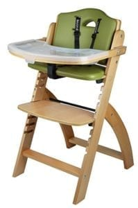 wooden high chair from infant to adult