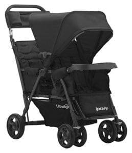 joovy stand on double stroller