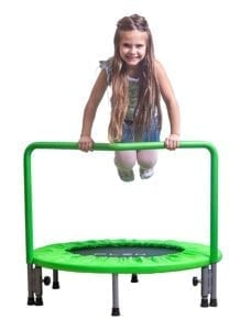kids trampoline with handle