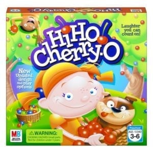hi ho cherry o preschooler board game