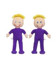 rag doll twins