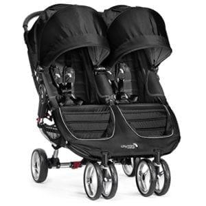 city mini twin stroller