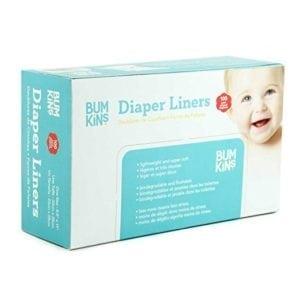 flushable diaper liners