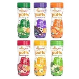 organic puffed snacks for babies