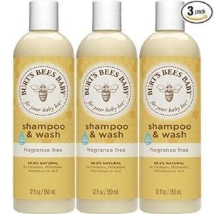 burt's bees baby shampoo