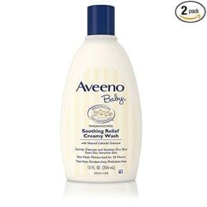 aveeno baby wash for sensitive skin