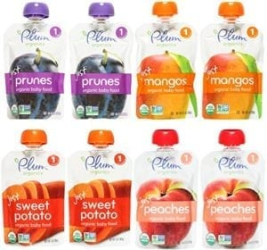 stage 1 baby food pouches