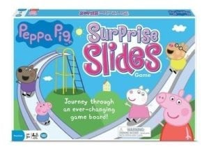 peppa pig surprise slides board game