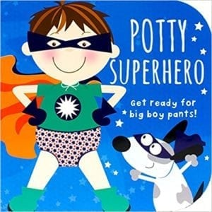 superhero potty book