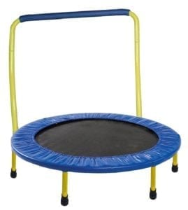 toddler trampoline with handle