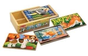 wooden puzzles - pets
