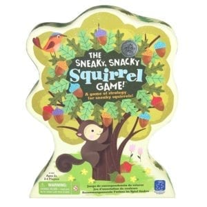 squirrel board game for preschoolers