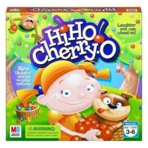 hi ho cherry o preschooler board game