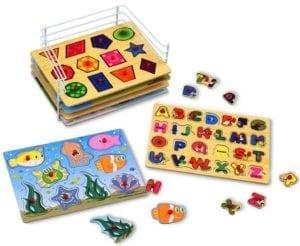wooden peg puzzles