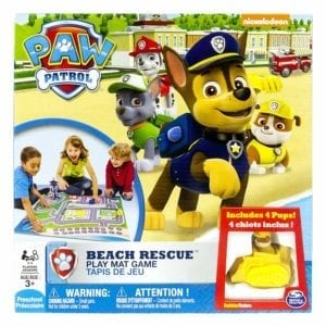 paw patrol beach board game
