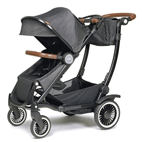Austlen Baby Co stroller for new mom in black