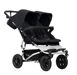 Mountain Buggy for infant and mom in black