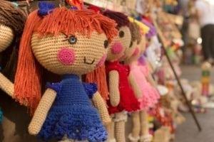 wollen doll toy