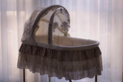 bassinet for a newborn baby