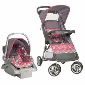 cosco pink travel system