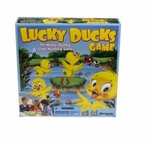 lucky ducks memory game