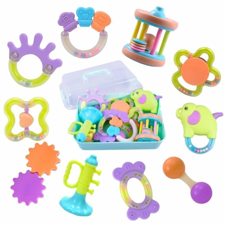 Spin Rattle, Musical Sounds Play Gift Set