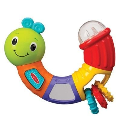 Caterpillar Rattle toy