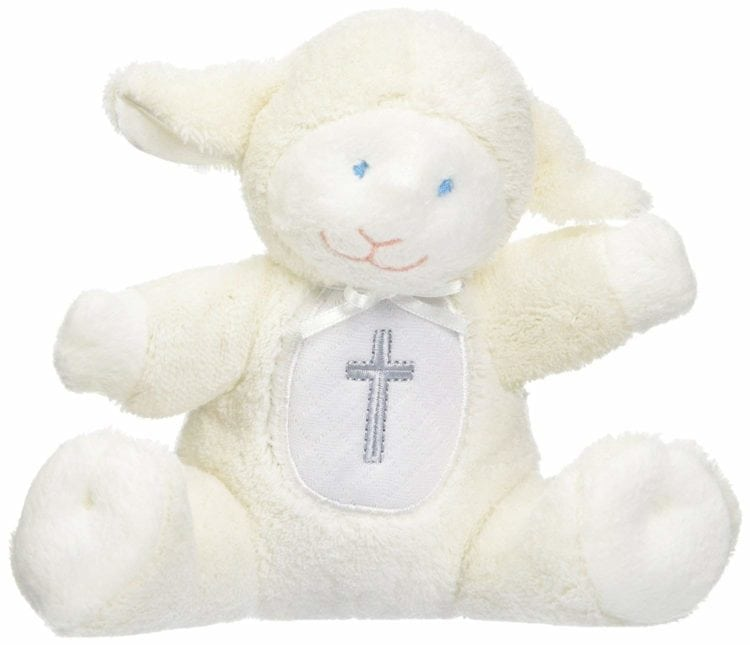 Soft Plush Rattle lamb toy