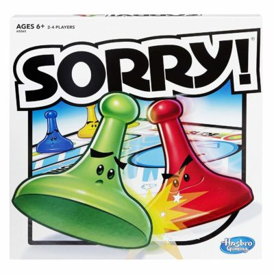 Sorry! game set by Hasbro