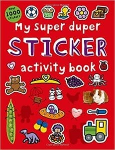 toddler sticker activity book