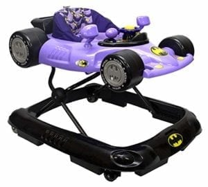 purple batman baby walker