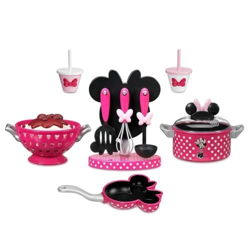 5 piece minnie mouse cooking play set