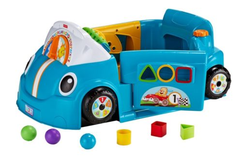 toy crawl car for toddlers - blue