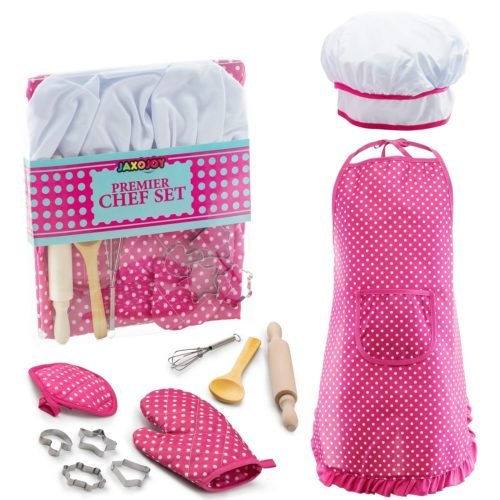 pink Apron for Little Girls