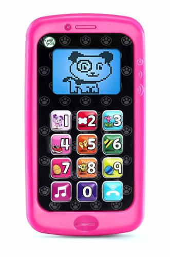 pink toddlers smart little phone