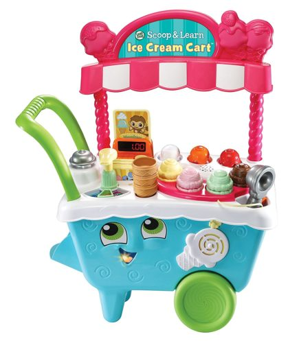1 LeapFrog Scoop Learn Ice Cream Cart
