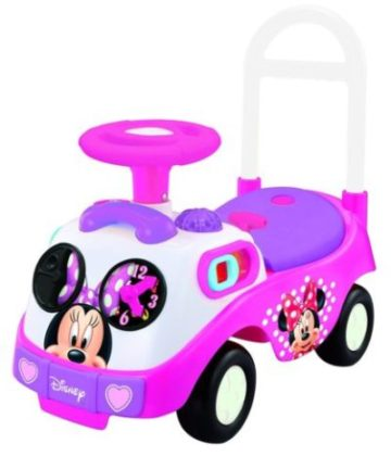 pink Minnie Ride On car toy