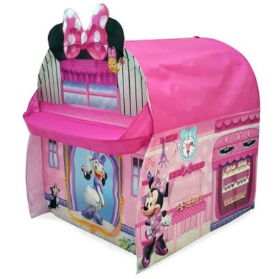 minnie mouse play hut tent