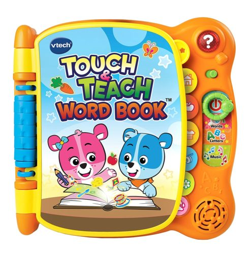 educational toy book for toddlers, Vtech and orange