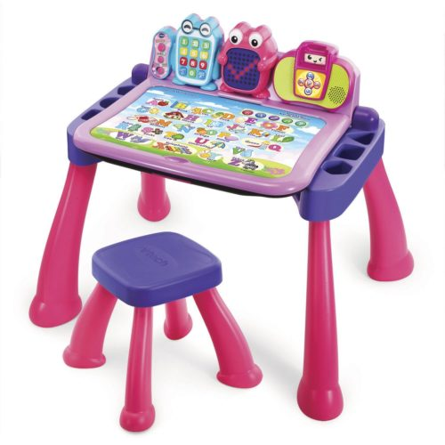 The VTech Activity Desk Is Perfect Educational Toy For 2 Year Olds It Just Right Height Toddlers Of This Age To Sit And They Will Be So