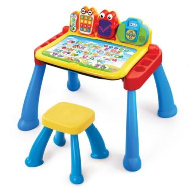 kids activity learning desk with chair - by Vtech