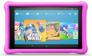 amazon fire 10 kids tablet pink
