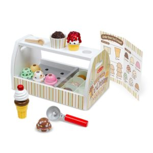 melissa and doug ice cream serving counter toy