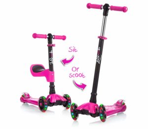 sit or stand 2 in 1 scooter